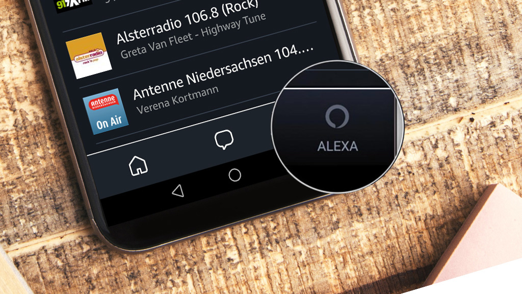 amazon alexa deutsch app