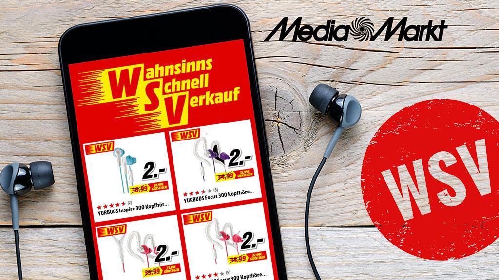 Media-Markt-Schnäppchen: Gute Kopfhörer für 2 Euro!