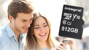 512 GB microSD ©Integral Memory