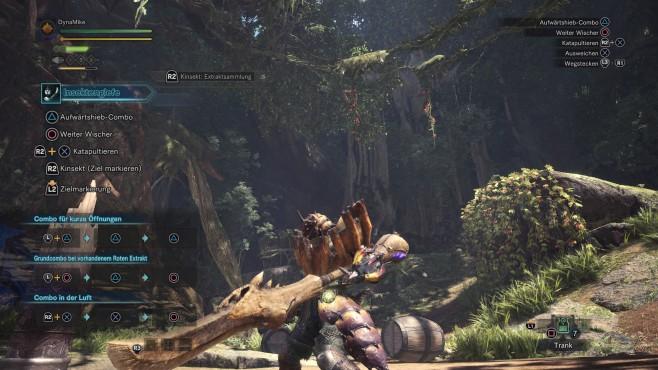 Monster Hunter – World: Die besten Waffen – so schlagen Sie sich durch! Die Insektenglefe ist ein wahrer Alleskönner. ©Capcom