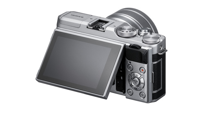 Fujifilm X-A5: Klappbares Display©Fujifilm