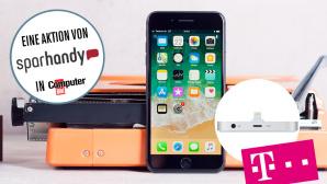 iPhone 8 besonders günstig mit Tarif kaufen ©Apple, Telekom, Sparhandy, COMPUTER BILD