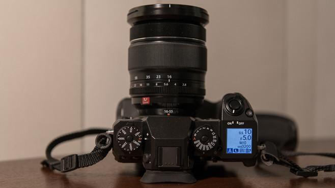 Fujifilm X-H1: Zusatz-Display©COMPUTER BILD