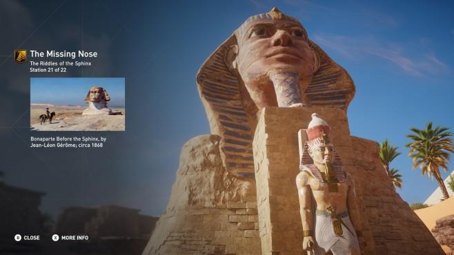 ACO Discovery Tour Sphinx ©Ubisoft