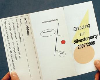 einladungskarten mit word gestalten pc - computer bild, Einladung