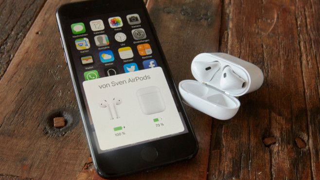 Apple AirPods ©COMPUTER BILD