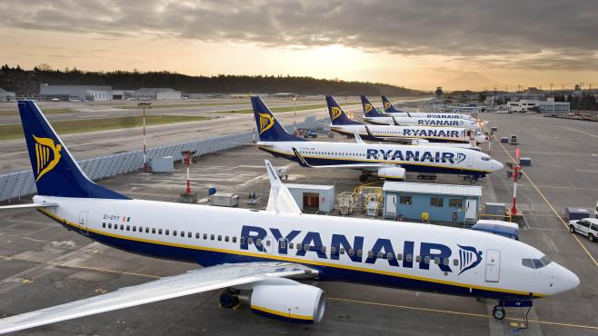 Ryanair-Flugzeuge ©Ryanair