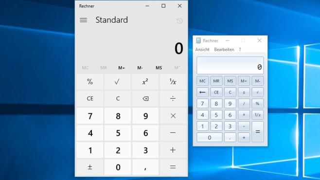 Windows 10: Alten Taschenrechner zurückholen ©COMPUTER BILD