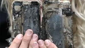Geschmolzenes Handy von Luiza Pinheiro ©7 News AU