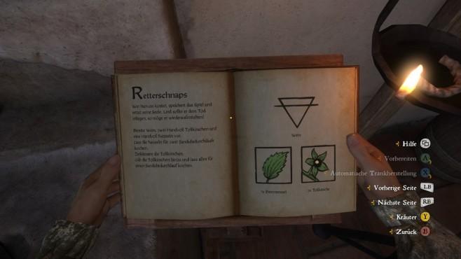 Screenshot Kingdom Come - Deliverance: Retterschnaps ©Warhorse Studios