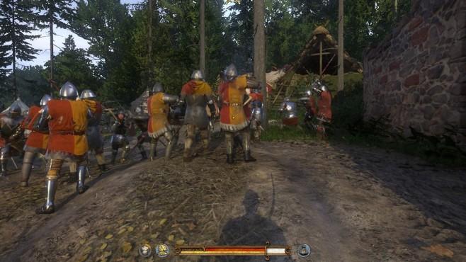 Screenshot Kingdom Come - Deliverance: Schlacht ©Warhorse Studios