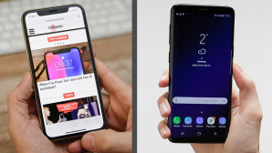 Apple iPhone X vs. Samsungs Galaxy S9 © COMPUTER BILD