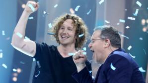 ESC 2018: Michael Schulte und Elton ©dpa Bildfunk