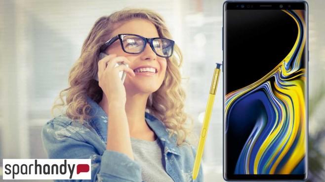 Samsung Galaxy Note 9: Jetzt bei Sparhandy vorbestellen©WavebreakmediaMicro – Fotolia.com, Samsung