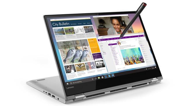 MWC 2018: Lenovo Flex 14 mit Active Pen ©LENOVO, MICROSOFT