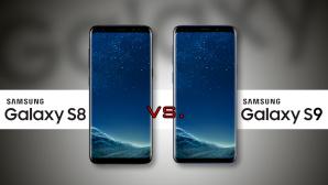 Samsung Galaxy S8 vs Galaxy S9 ©Samsung