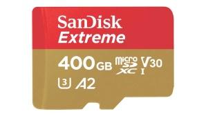 Sandisk Extreme 400 Gigabyte microSD-Karte ©SanDisk
