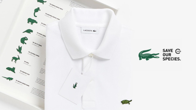 Polo-Shirt von Lacoste ©Lacoste
