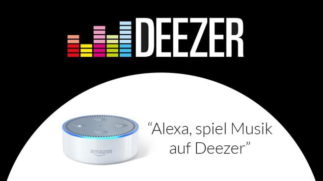 Amazon Echo Dot ©Deezer, Amazon