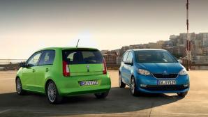 Autosalon Genf: Skoda stellt e-Citigo vor ©Skoda