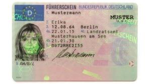 Deutscher Führerschein ©Bundesverkehrsministerium