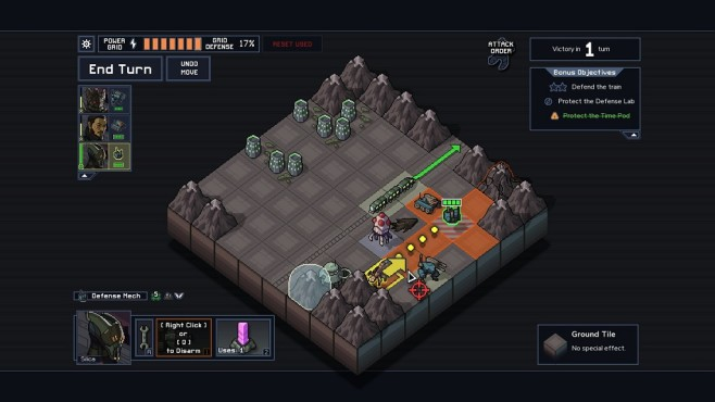 Into the Breach Laser Mech © Subset Games