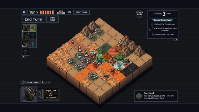 Into the Breach Map © Subset Games