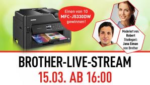 Brother Live-Stream ©Brother/Computer Bild