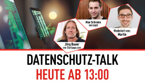 Datenschutz-Talk ©COMPUTER BILD