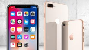 Apple iPhone X, iPhone 8, iPhone 8 Plus ©Apple