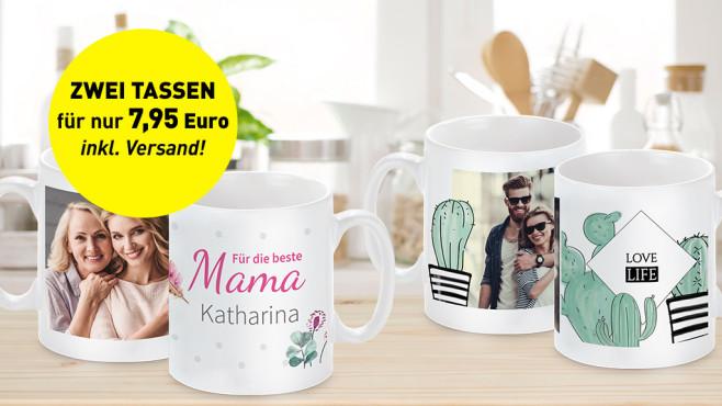 PixelNet Zwei Panorama-Tassen für nur 7,95 Euro! ©Pixelnet, istock/didecs