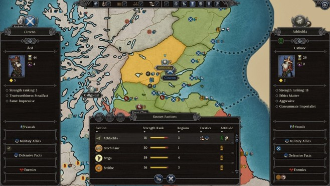 Total War Saga – Thrones of Britannia: Diplomatie © Sega/Creative Assembly