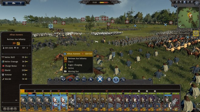 Total War Saga – Thrones of Britannia: Schlachtfeld © Sega/Creative Assembly