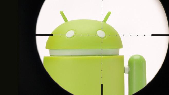 Android-Schädling ©©istock.com/Korolev_Ivan, ©istock.com/juniorbeep