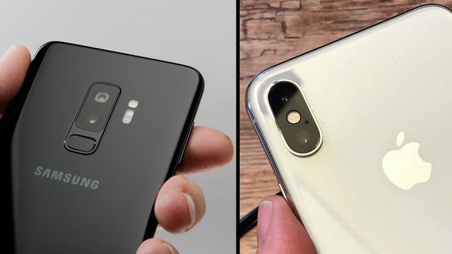 kamera vergleich iphone x gegen galaxy s9 computer bild. Black Bedroom Furniture Sets. Home Design Ideas