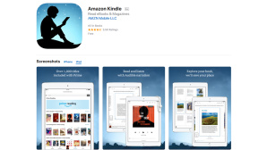 Amazon Kindle App © iTunes / Amazon