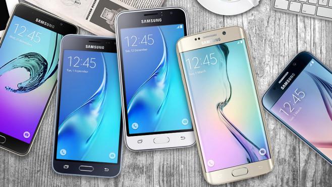 Samsung Galaxy A3 S6 ©iStock.com/rzoze19, Samsung