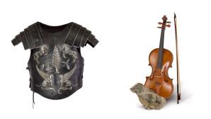 Harnisch und Geige ©Courtesy of Sotheby's Australia