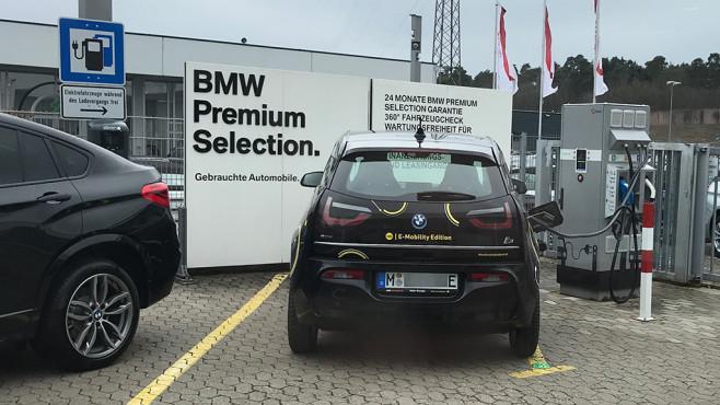 BMW i3 in Lauf ©COMPUTER BILD, Max Wiesmüller