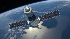 Raumstation Tiangong 1 ©dpa-Bildfunk
