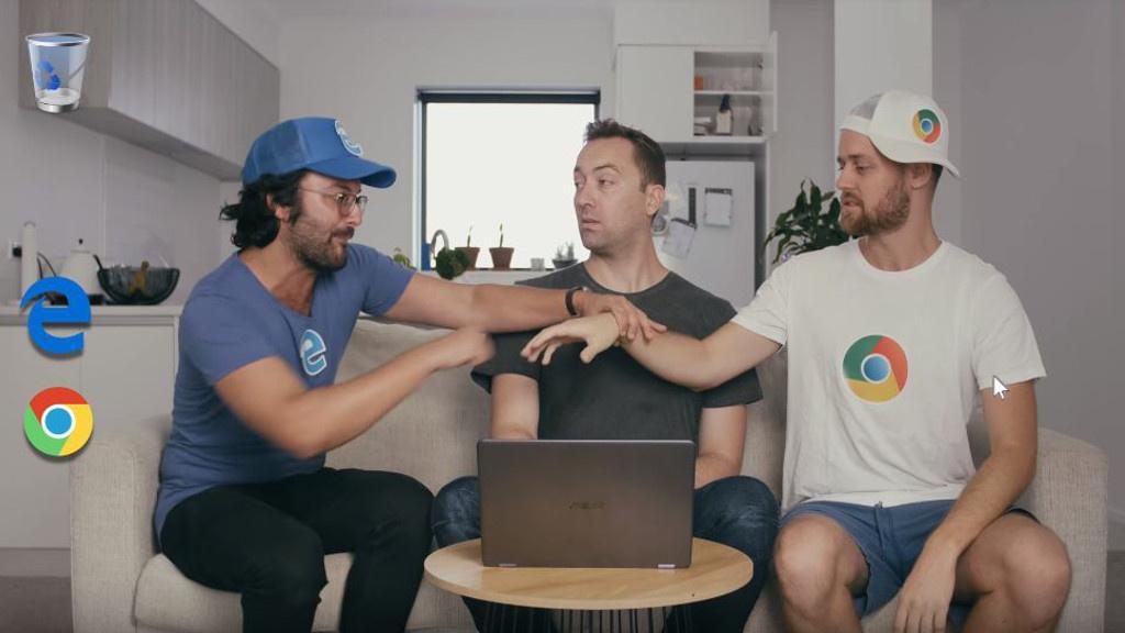 YouTube-Video: Chrome und Edge im echten Leben