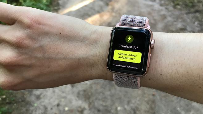 Apple Watch erkennt Sport ©COMPUTER BILD