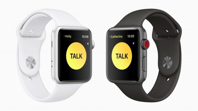 Apple Watch mit watchOS 5 ©Apple