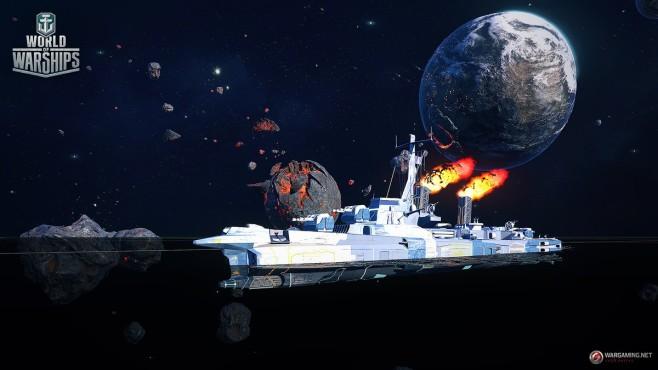 World Of Warships Weltraum