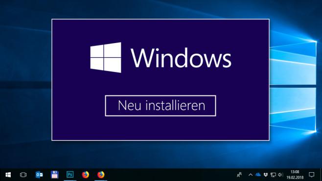 daten bereinigen windows 10