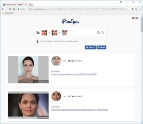 PimEyes Face Finder: Ähnliche Gesichter online suchen