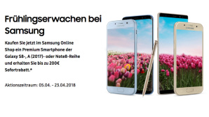 Samsung Frühlingserwachen ©Samsung