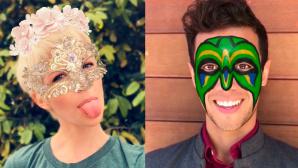Zwei der neuen Snapchat-Filter ©Copyright: Snapchat