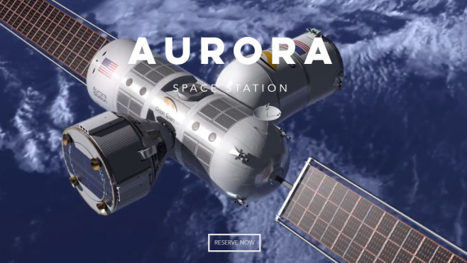 Aurora Space Station © Orion Span