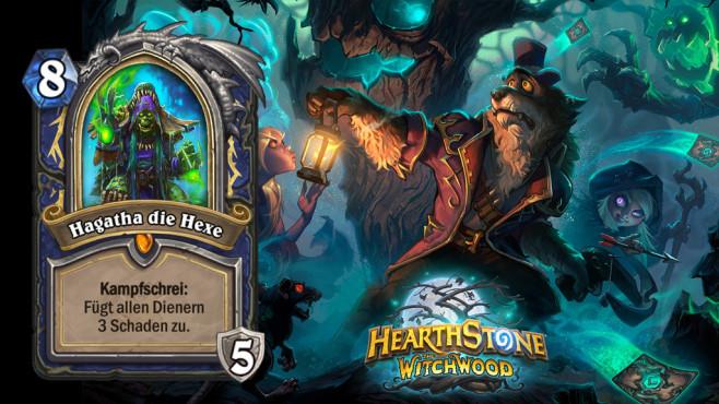 Hearthstone – Der Hexenwald: Die besten Karten Ein neuer Held für den Schamanen: Findet die Klasse so zu altem Glanz zurück? ©Blizzard